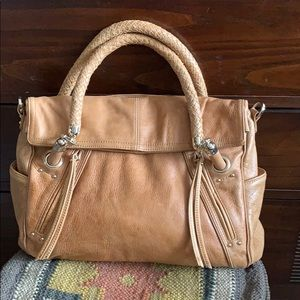 Junior drake leather bag